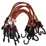 Kotap Adjustable 24-Inch Bungee Cords, 10-Piece, Item: Mabc-24