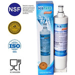 Icepure Premium Refrigerator Replacement Water Filter, Compatible With Whirlpool Pur 4396508, 4396510 For Kitchenaid Maytag Whirlpool Side By Side Refrigerator