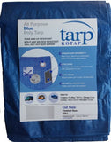 Kotap 15-Ft X 25-Ft General Purpose Blue Poly Tarp, Item: Tra-1525