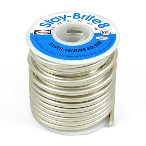 Ha Sta-Brite 8 1/8 1#10009 (348-Sb861) Category: Solder Alloys And Fluxes