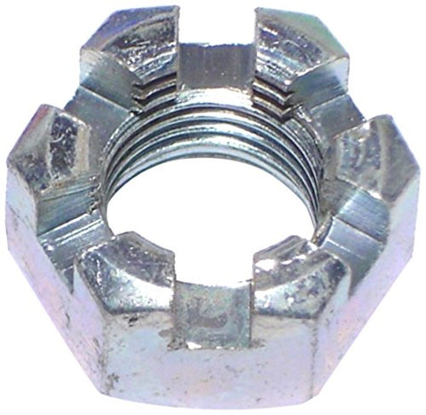 Hard-To-Find Fastener 014973261139 Castle Hex Nuts, 1/2-20-Inch