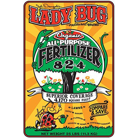 Lady Bug 8-2-4 All Purpose Fertilizer 6 Lb.