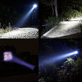 Tactical Flashlight - Tac Light Torch Flashlight - As Seen On Tv Xml T6 - Brightest Led Flashlight With 5 Modes - Adjustable Waterproof Military Grade Flashlight For Biking Camping By Letmy