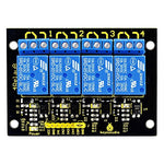 New Keyestudio 4-Channel Relay Module For Arduino Uno&Mega/Raspberry Pi/Avr/Stm32