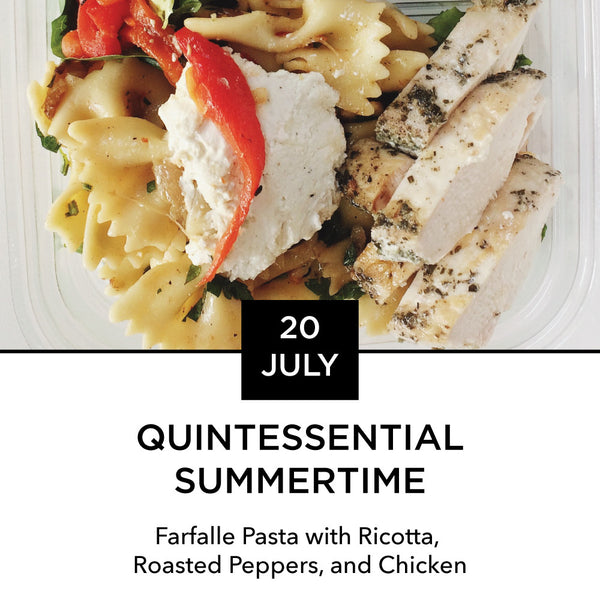 Lunch Box: Monday, July 20: Quintessential Summertime
