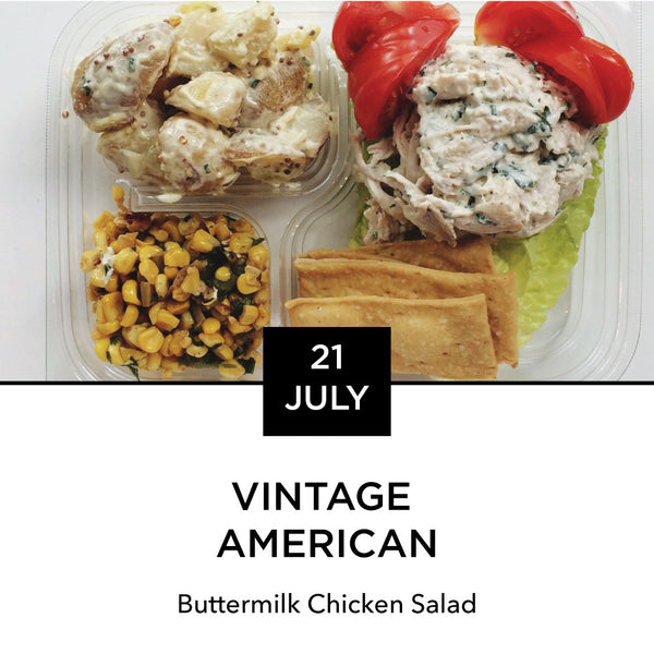 Lunch Box: Tuesday, July 21: Vintage American