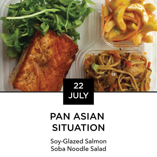 Lunch Box: Wednesday, July 22: Pan Asian Situation