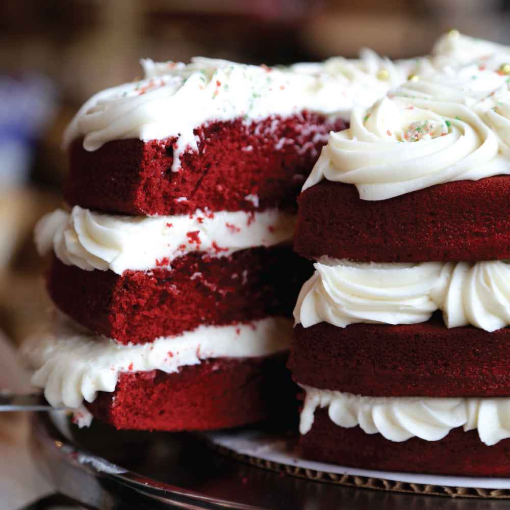 Winter Red Velvet Cake