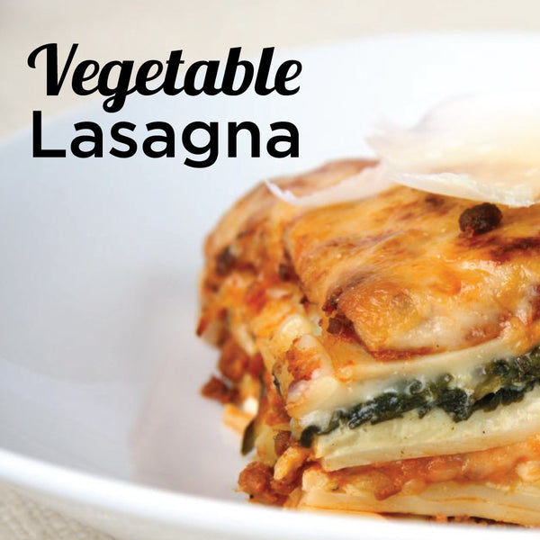 July 12 Date Night Bag: Summer Harvest: Vegetable Lasagna