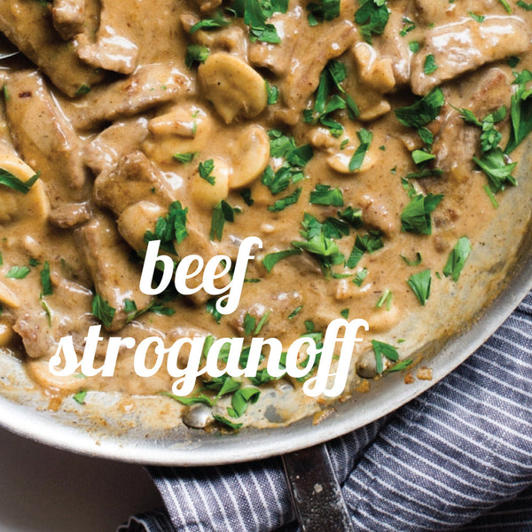 March 29 Date Night Bag: Dinner at Nana's: Beef Stroganoff