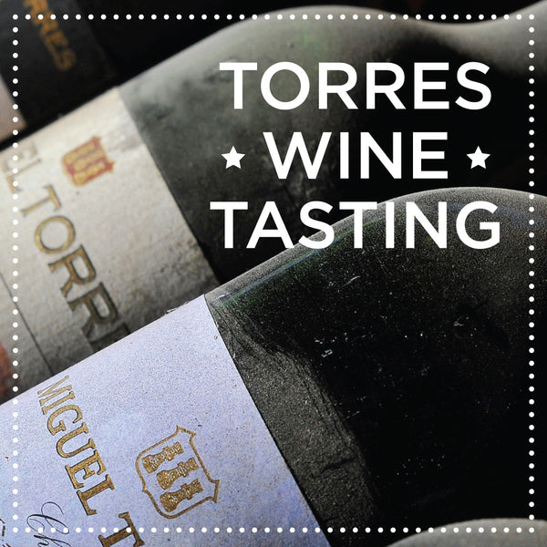 Torres Family Wine Dinner April 30, 2019