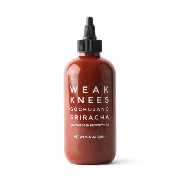 Weak Knees Gochujang Sriricha Hot Sauce