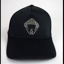 Baseball cap with Genuine Swarovski Logo