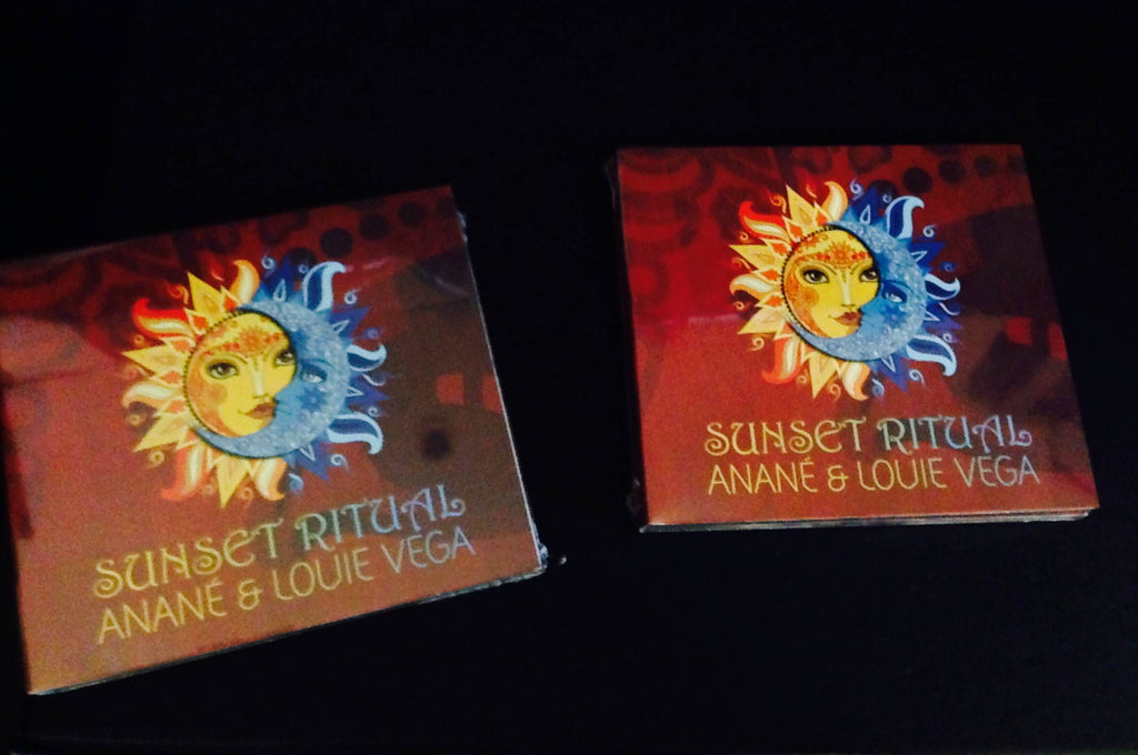 SUNSET RITUAL TRIPLE CD/DVD COMPILATION - SELECTED AND MIXED BY ANANE & LOUIE VEGA