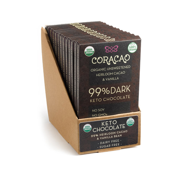 99% Keto Chocolate (24 oz - 12 in Case)