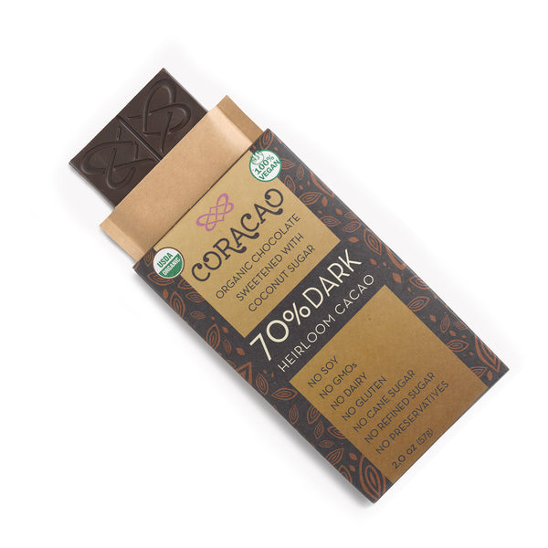70% Heirloom Cacao Bar (2 oz)