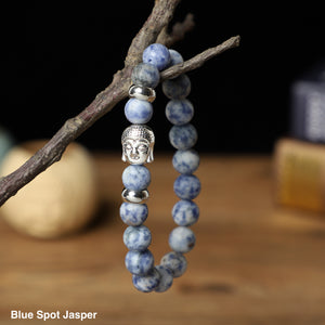 Buddha Bracelets (10mm Gemstone beads )