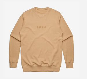 Tan Logo Sweatshirt