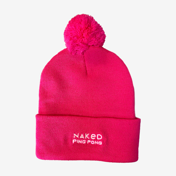 Naked Ping Pong Pink Beanie