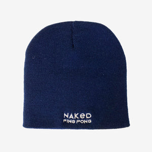 Naked Ping Pong Navy Blue Beanie