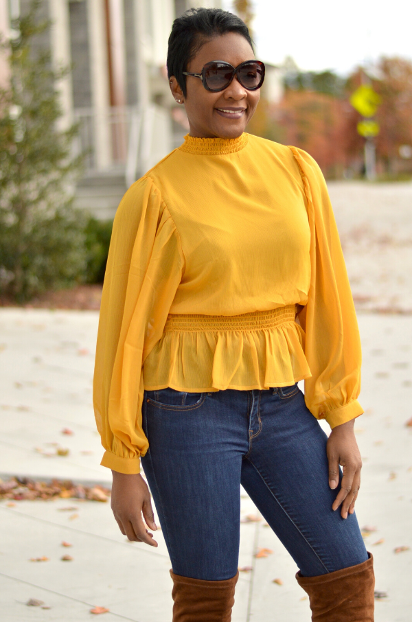 Gold Blaze Blouse