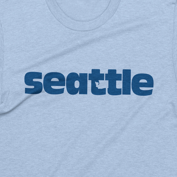 Hidden WA Seattle tshirt - Viaduct