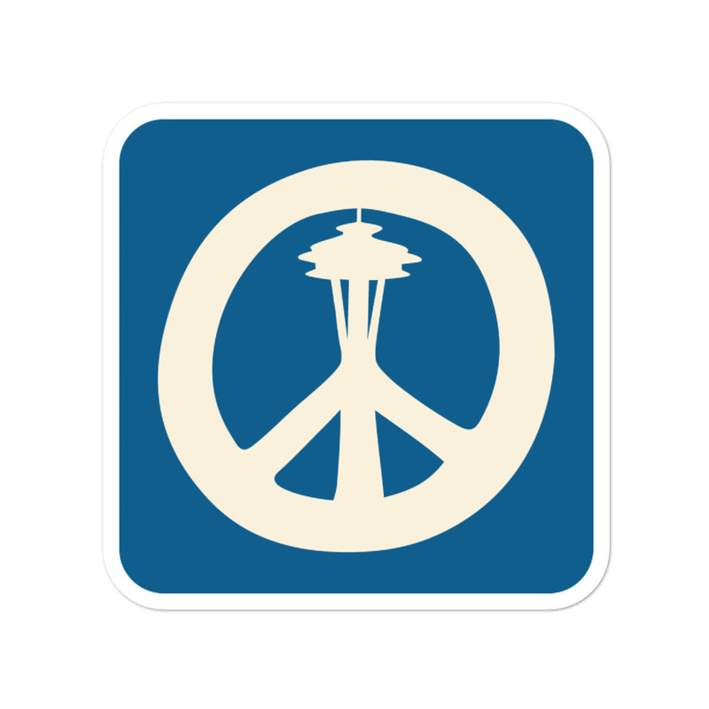 Peace Needle - Sticker - Viaduct