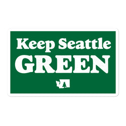 Keep Seattle Green - Sticker - Viaduct