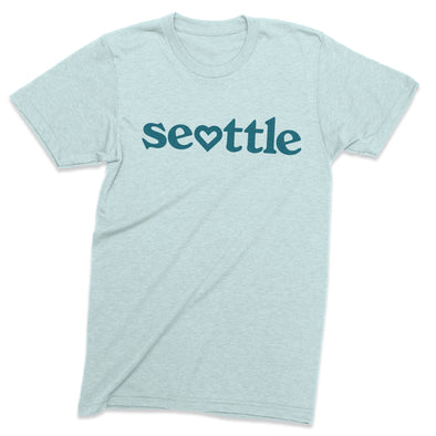 Seattle love vintage style t-shirt