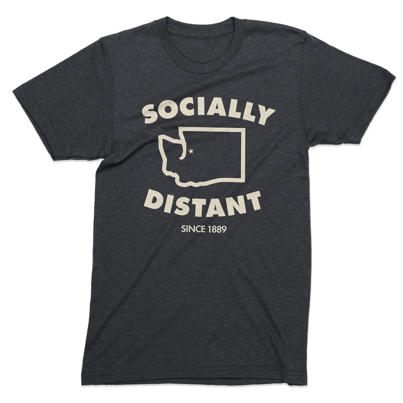 Socially Distant Washington tshirt - Viaduct