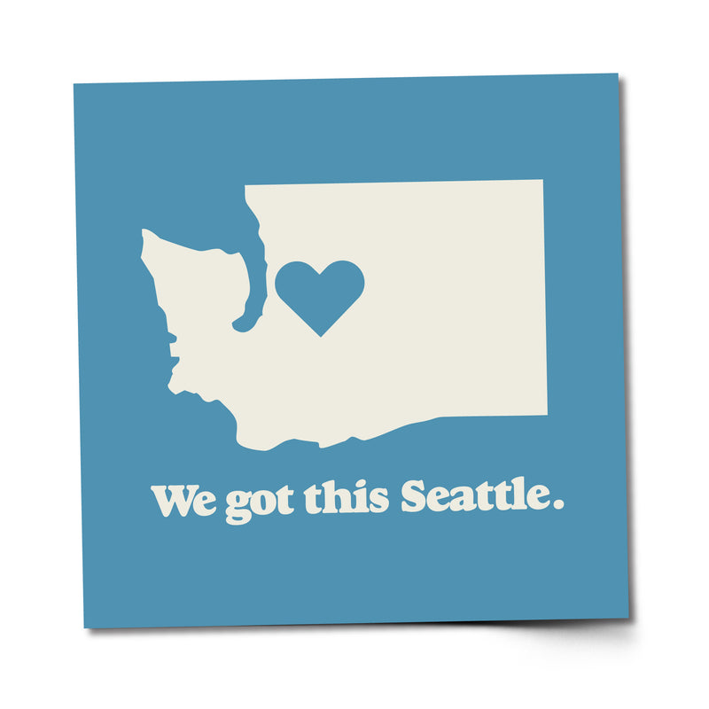 We Got This Seattle sticker - Viaduct