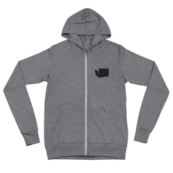 Little WA zip up hoodie - Viaduct