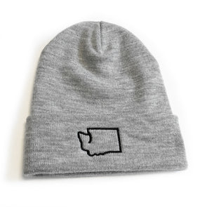 Washington outline beanie - Viaduct