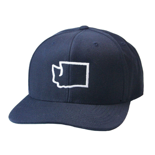 Washington outline snapback - Viaduct