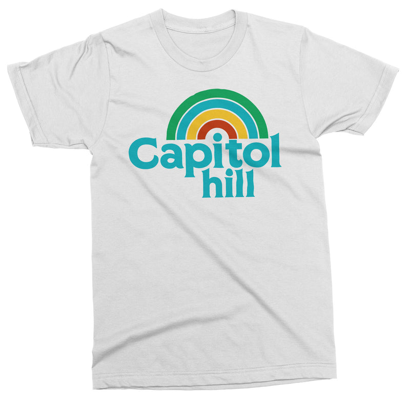 Capitol Hill Rainbow tshirt - Viaduct