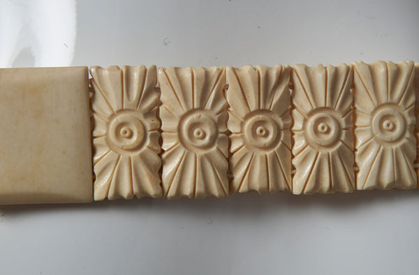 Carved Bone Belt