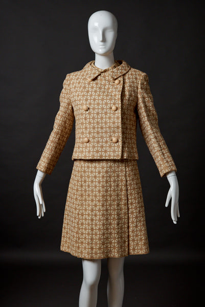 Gino Rossi Two-Piece Tweed Dress