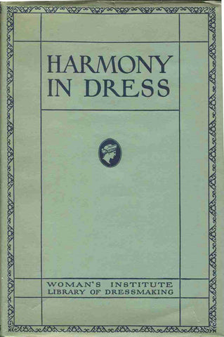 Vintage Sewing Pattern-  BOOK - Womens Institute: # Book: Harmony in Dress 1920s