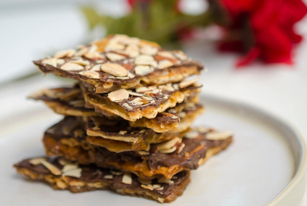 chocolate salted caramel crackers