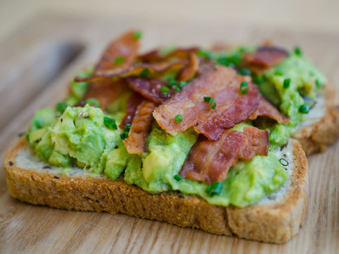 Bacon Avocado Toast
