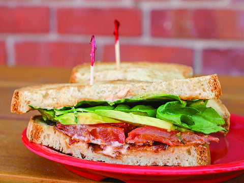 bacon, lettuce, avocado & tomato