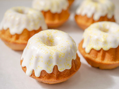 lemon almond bundt