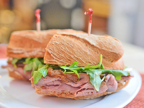 gluten-free san francisco steak sandwich