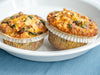 Bacon & Cheddar Quiche Muffin