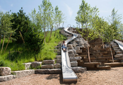 New York's longest slide