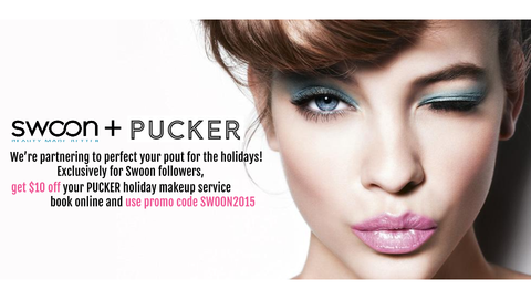 $10 Off Makeup Services at Pucker Co