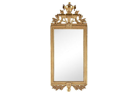 A Early-20th-C. Gustavian-Style Mirror