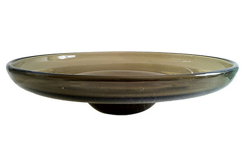 Midcentury Swedish Glass Bowl