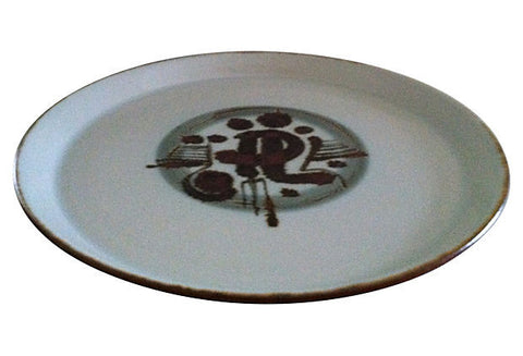 Danish Midcentury Decorative Platter