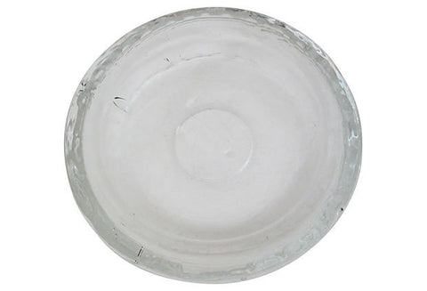 Scandinavian Thick Glass Bowl